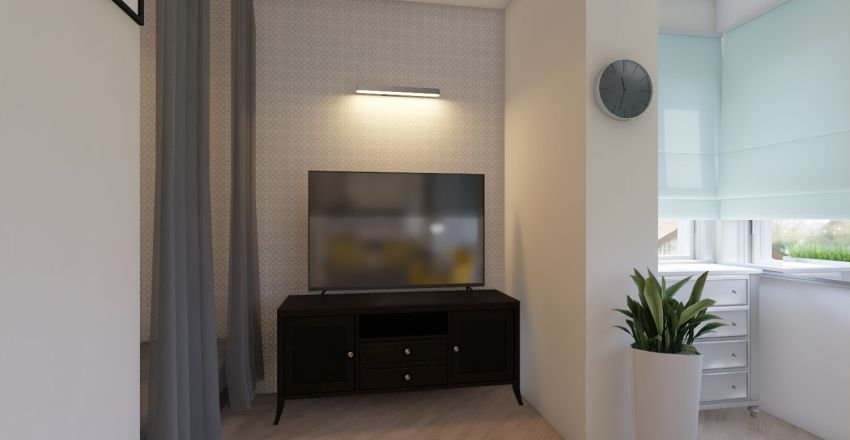 podolskaya 6 Interior Design Render