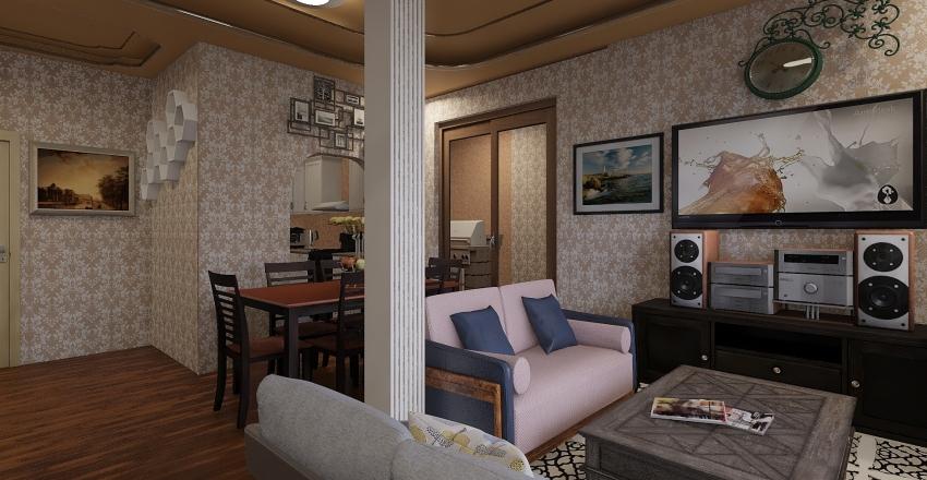 Olek House Interior Design Render