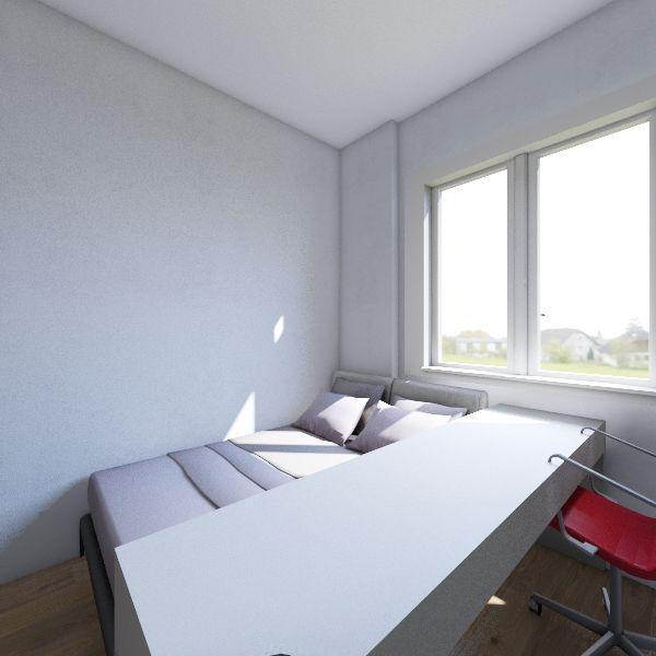 Meu quarto - Uberlândia Interior Design Render