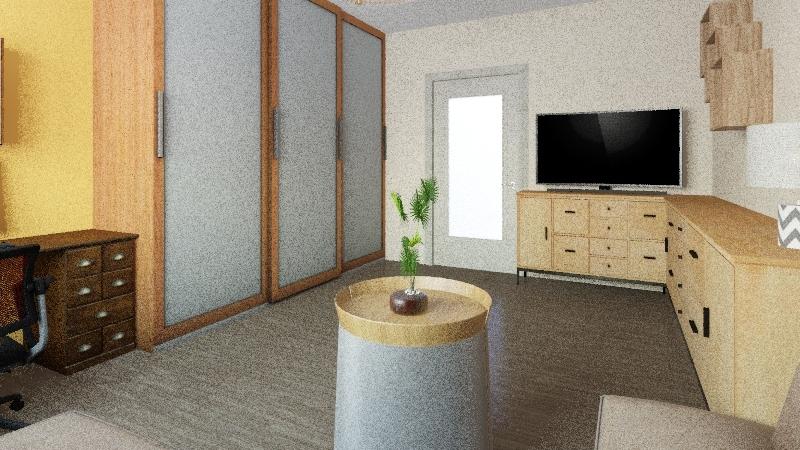 Lukášův pokoj 3 Interior Design Render