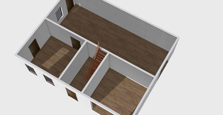 č.281 mičkovice Interior Design Render