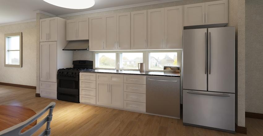 28 x 64 WALL Kit Interior Design Render