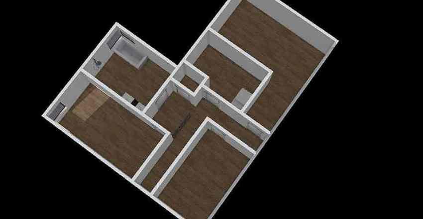 Huis 1e Verdieping Interior Design Render