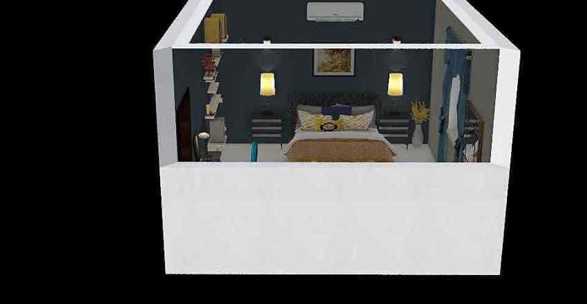 bed room project Interior Design Render