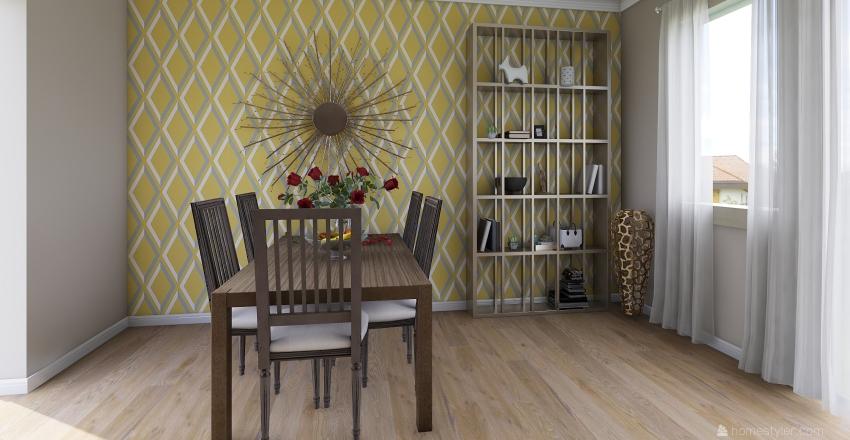 salon Ola Interior Design Render