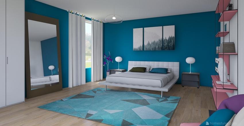 Ejercicio de Color #2 Interior Design Render