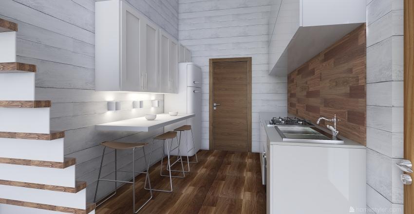 TINY HOME 1 Interior Design Render