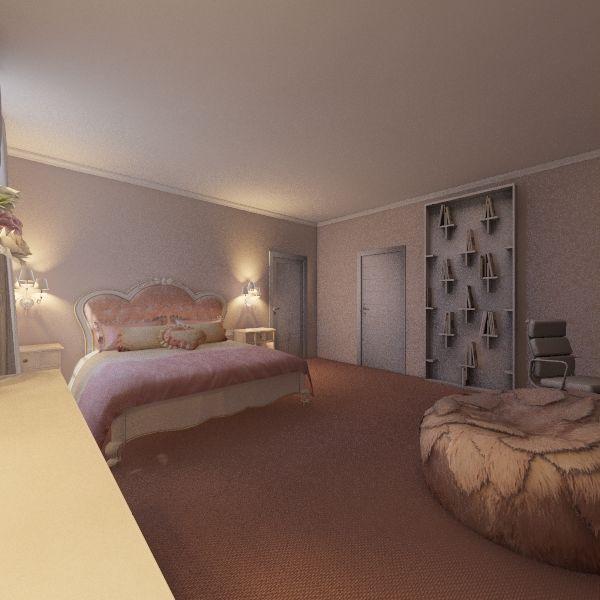 Романский стиль Interior Design Render