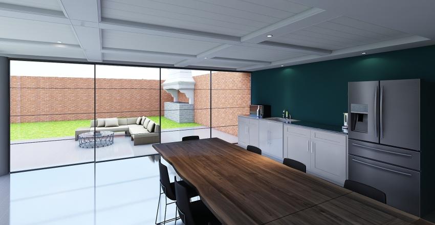 House Weekend  Interior Design Render