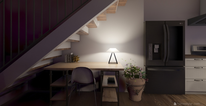 this is home Interior Design Render