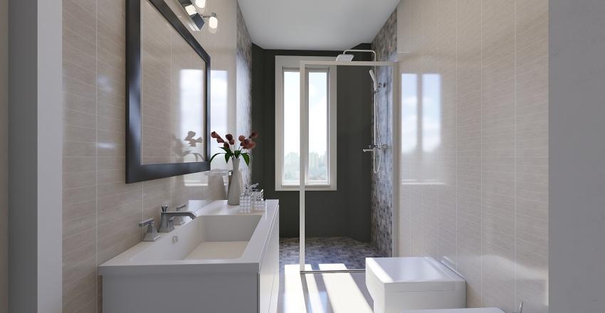 Ristrutturare 40mq Interior Design Render