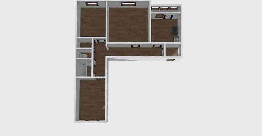3-комн_030_2 Interior Design Render