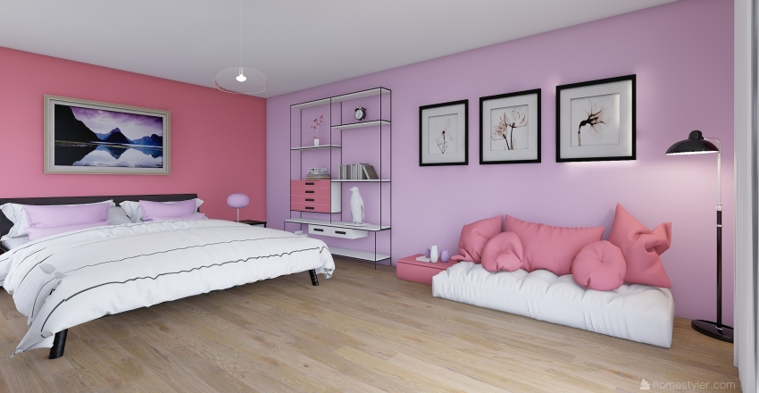 Ejercicio de Color #4 Interior Design Render