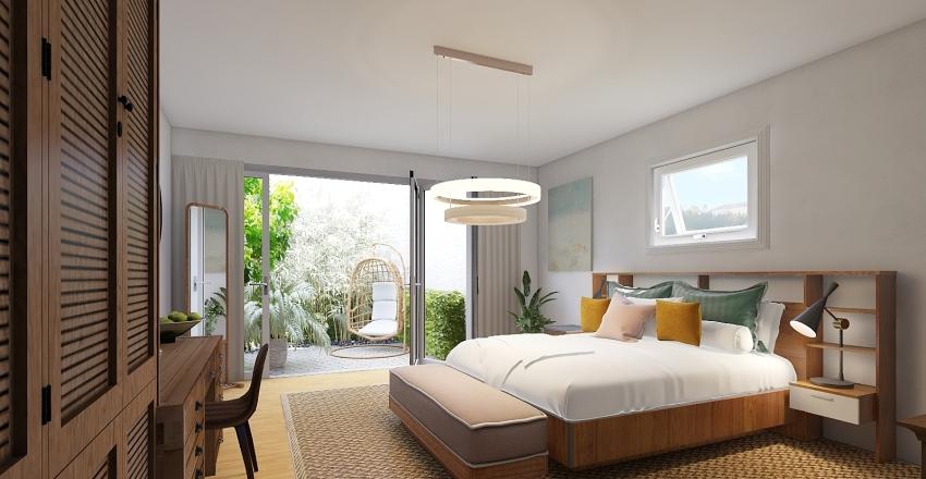 Bali Holiday | Bedroom Interior Design Render