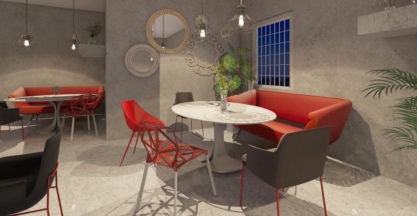 default space Interior Design Render