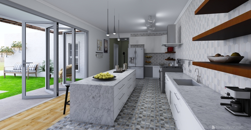 House Place Interior Design Render