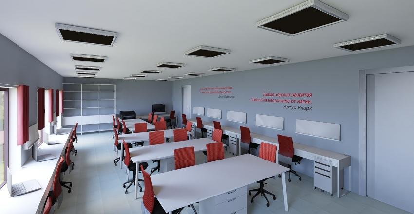 school_future_GYM_2 Interior Design Render