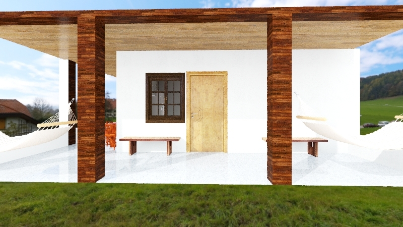 casa finca sn vicent Interior Design Render