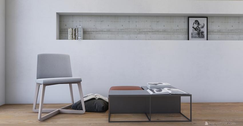 Reading Room Gallery Interior Design Render
