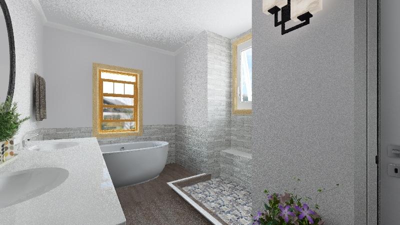 Alecia R.- Bathroom Remodel Interior Design Render