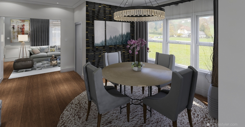 House Manton Interior Design Render