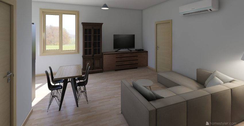 Casa plantilla Interior Design Render