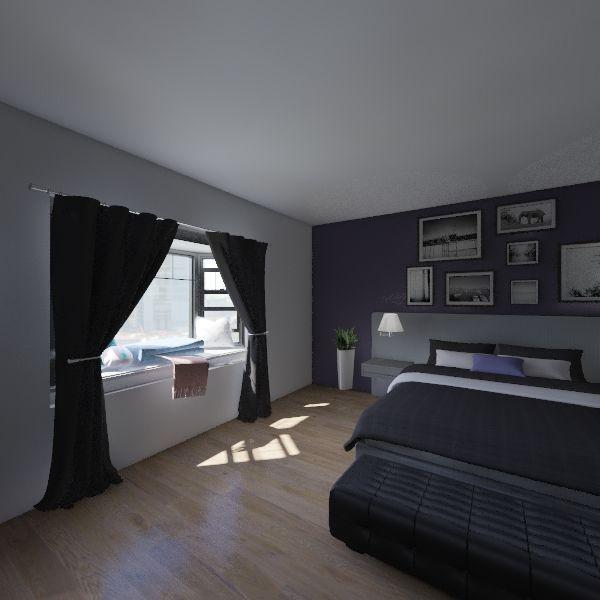 master bead room Interior Design Render