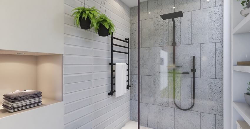 BAÑO MODERNO! Interior Design Render