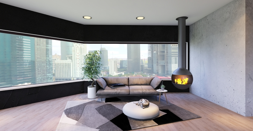 ;) Interior Design Render
