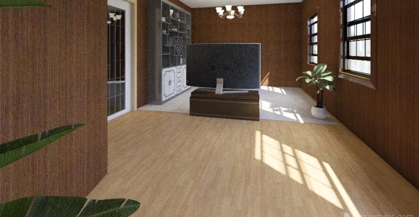 Sweet House Interior Design Render
