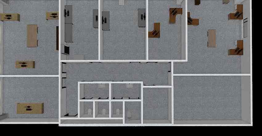 Nuovi Uffici Interior Design Render