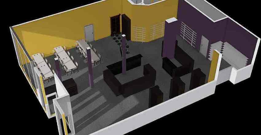 Anime Kat Interior Design Render