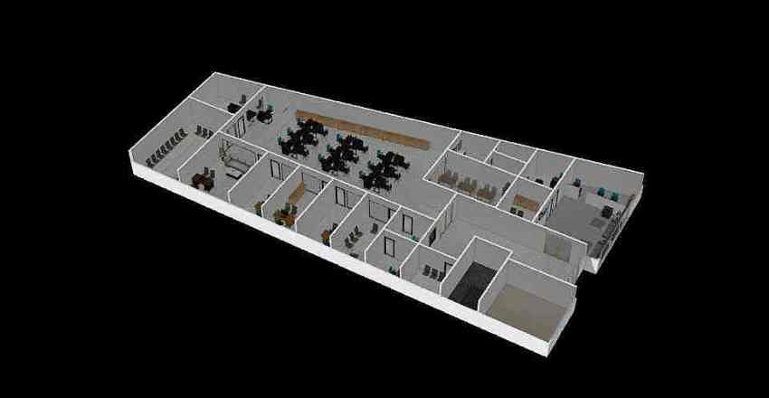 New Office PWS V2 Interior Design Render