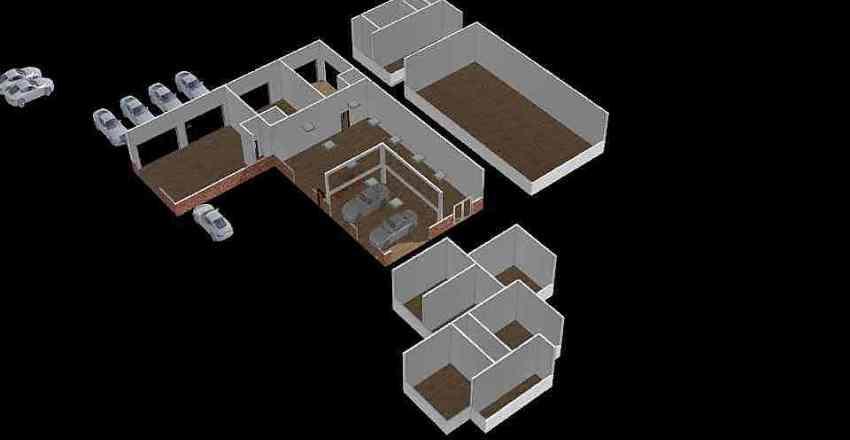 new place Interior Design Render
