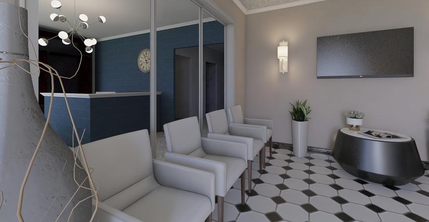 Dentist Office Interior Design Render