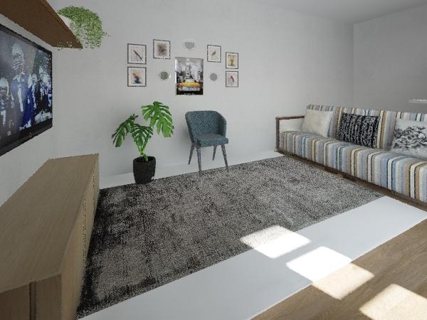 sala roger Interior Design Render