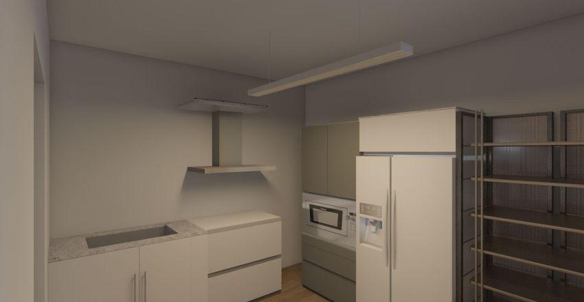 Casa Grosseto Interior Design Render