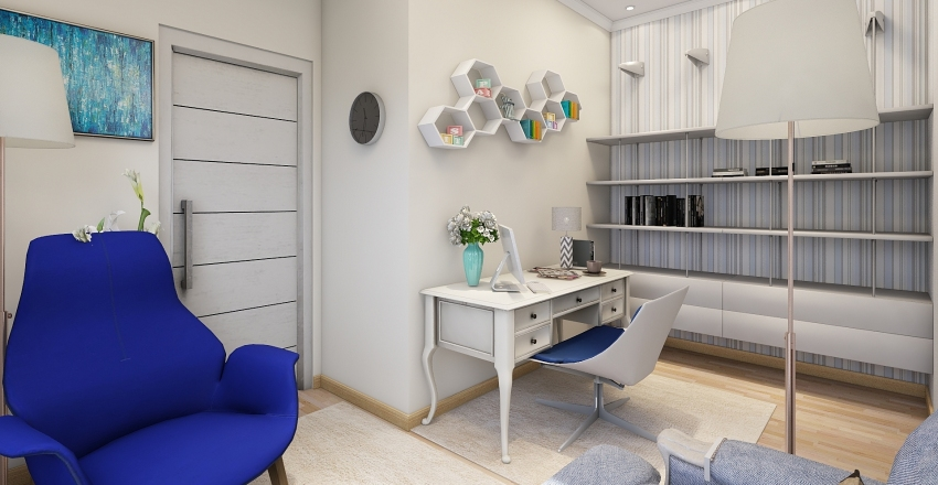 psychology consulting project Interior Design Render