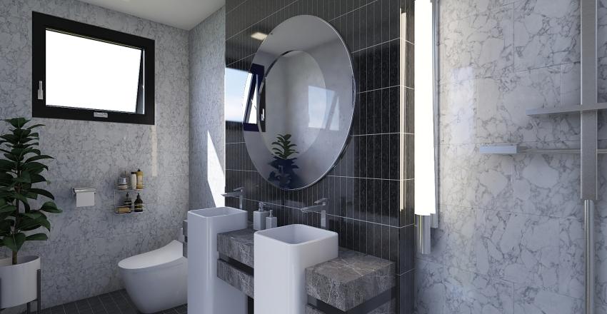 Elegant bathroom design Interior Design Render