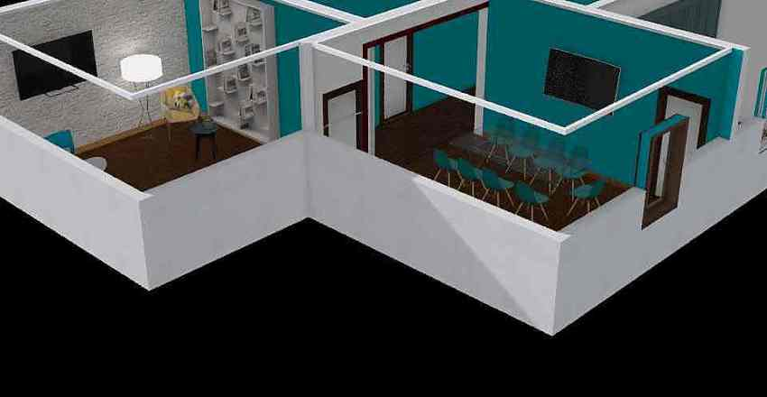aniiCool house Interior Design Render