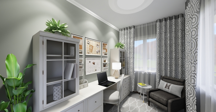 Badman Residence Interior Design Render