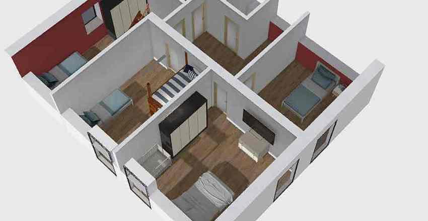 Návrh vrch_4 Interior Design Render