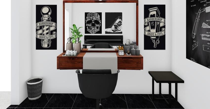 BARBEARIA Interior Design Render