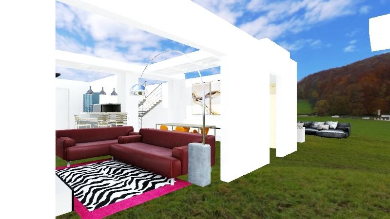Salotto arco divano 244/204 Interior Design Render