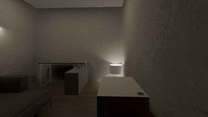 Kacper's Room Interior Design Render