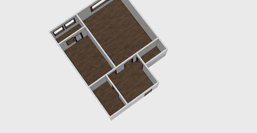 1-комн_0339 Interior Design Render