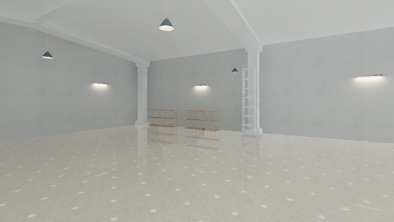 garaj Interior Design Render