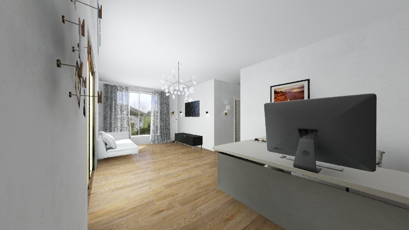 clinica Interior Design Render