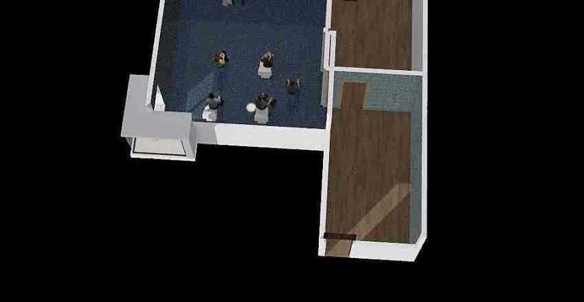 wc ucionica buducnosti Interior Design Render