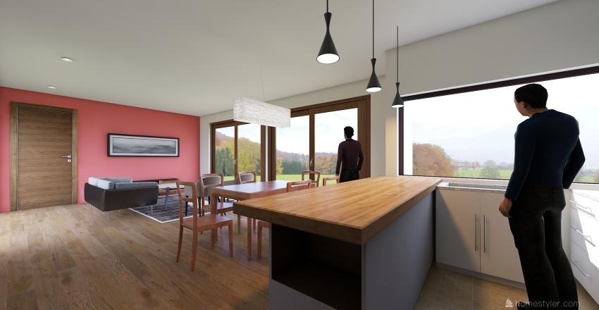 Casa prueba para ESDAI Interior Design Render